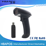 HBA-9600 handeld wireless 1d barcode scanner supermarket bar code reader