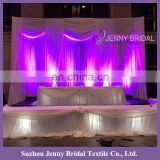 BCK131 indian wedding backdrops chiffon church backdrops for wedding events