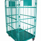 Heavy Duty Roll Cage Trolley Steel For Stock Distribution