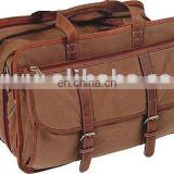 Suede Leather Fancy Laptop Bag