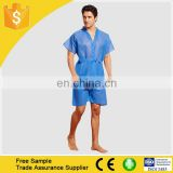 Disposable Unisex Uniform/SPA Clothes/Sauna Clothes PP Non Woven