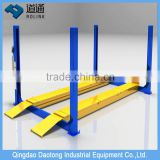 car workshop lifting equipment , 4-wheel alignment equipment/used 4 post car lift for sale