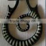 High Quality Round Designed Horn Earring for Sale