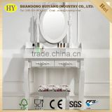 modern design cheap dressing table with almirah