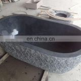 natural stone solid surface bathtub