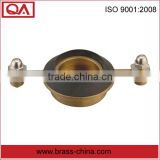 top quality spud for toilet with rubber washer brass