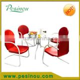 Pesinou new style dining metal Chair