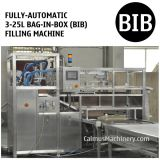 Fully-automatic 3-25L Bag in Box Water Alcohol Beverage Oil Filling Machine BIB Filler