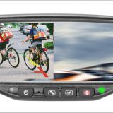 4.3inch TFT-LCD rear view mirror monitor with On-star aid system special for replacing original GM/Hyundai