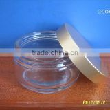 200g clear glass jars, 200ml frost cream jars, skin care cream bottles, cosmetic containers