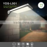 Yardshow Solar Motion Sensor Natural Warm White LED Wall Light