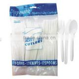Disposable Plastic Fork,Spoon,Knife