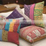 Kantha quilted pillow cover vintage kantha Cotton cushion cover