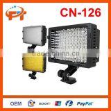 Pro CN-126 LED camera video lamp light for Nikon Canon