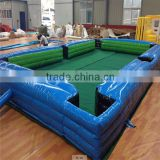 2016 inflatable play equipment inflatable snookball table football pool soccer game
