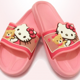 Fashion Flat Girls Kitty Children Slippers