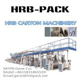 3ply single wall corruagted paperboard production line/fully automatic corrugated making machine/carton box making