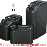 Military Metal Fuel Jerry Can / Army Gas Can Steel Jerrycan