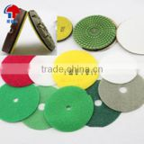Abrasive hook and loop Rounds precut pieces dot
