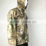 hunting waterproof and windproof camouflage clothing for men made in China