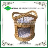 Handicrafts woven wicker cat house
