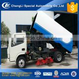 road cleaning and road sweeper truck