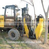 crawler hydraulic tree spade with CE