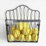 Professional manufacture factory supply 2 tiers fruit basket