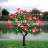 beautiful outdoor decorative peony led tree light,led peony tree,decorative tree