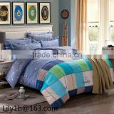 100% cotton jacquard home bedding sets, bed sheet and duvet cover