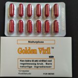 2017 hot sell Golden viril male enhancement capsules