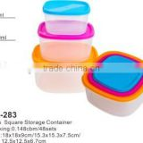 6pcs PP Wholesale Food Containers TH-283