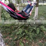 Newly design outdoor nylon kid rope net mesh hammock