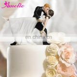 A07395 Bride and Bridegroom Wedding Cake Topper