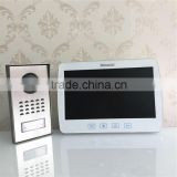 "China ETE 10""tft-lcd 500tvline color indoor monitor and outdoor camera panels door phone system, ete video door phone"