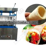 automatic pizza cone making machine
