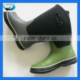 neoprene fabric rubber boots