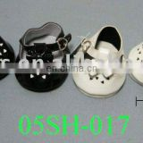 Lovely Mini Shoes! Black & White Mary Janes With PAW SOLE For Plush Toys and Dolls! BEST PRICE!