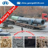Cheap price supply the 90% new used sawdust rotary dryer / used wood chips dryer