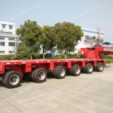 Hydraulic modular trailer,  Goldhofer trailer,  Module trailer