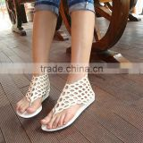 B11004A new fashion lady scale summer sandals