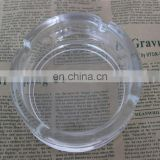 sublimation printable transparent glass ashtray