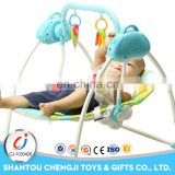 High feeding electric baby swing chair rocker with music