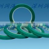 green tie tapes for high temperature resistance and holding purpose
