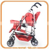 Double twin pushchair twin buggy double stroller