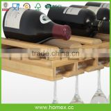 Superior wine bottle holder_bottle display rack_wine beer storage display rack_HOMEX