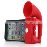 Portable Silicone Mobile Phone Amplifier/mobile phone mini amplifier/cell phone audio amplifier