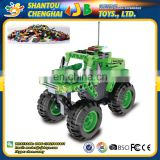 C52006W 182pcs pull back monster off-roader building blocks diy toy rc car electric