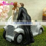 A07396 New Arrival Kissing Cake Topper Wedding Funny
