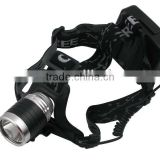 LL-6631 XML-XPE LED 3-Mode 1800LM High Powerful Rechargeable LED Headlamp